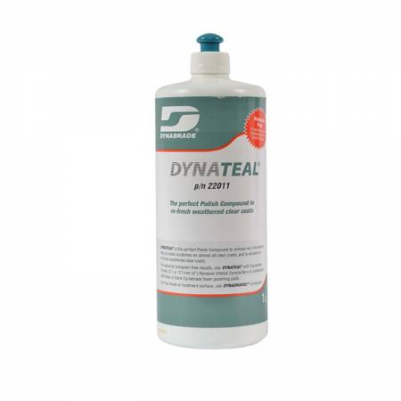 1 litre tin Dynateal polishing paste (green)