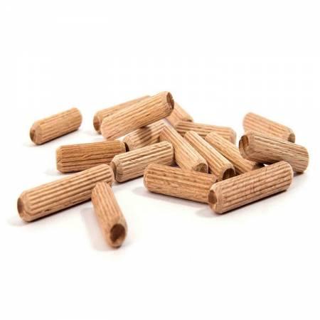 Sack of beech wood dowels, D.8 mm