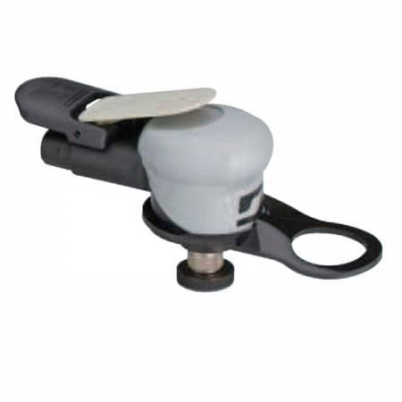 Mini rotary orbital sander, non-vacuum, 5 mm orbit, D32 mm adhesive plate - Silver Supreme 69.504 model