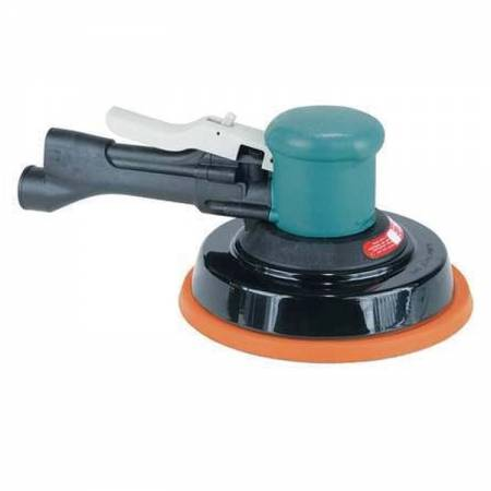 Rotary orbital sander with handle, non-vacuum, 5 mm orbit, D150 mm adhesive plate - Two-Hand 58.405 model