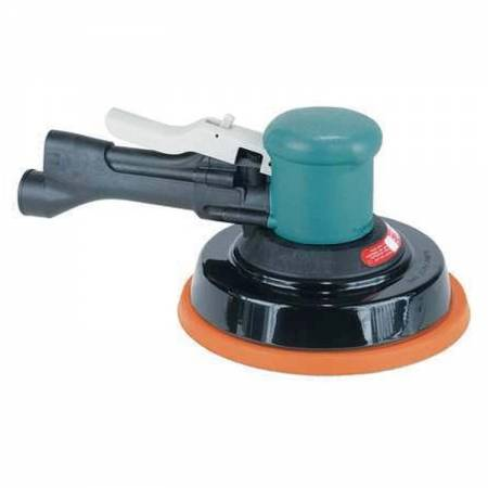 Rotary orbital sander with handle, non-vacuum, 10 mm orbit, D150 mm adhesive plate - Two-Hand 58.418 model
