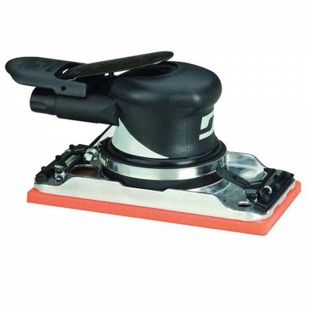 Orbital sander, non-vacuum 2.5 mm orbit, 93 x 172 mm Velcro base and with clips - Dynabug 57.810 model