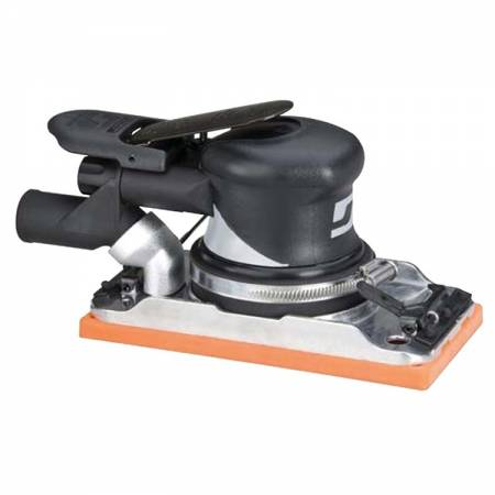 Orbital sander, vacuum. 2.5 mm, 93 x 172 mm base with Velcro and clips - Dynabug 57.814 model