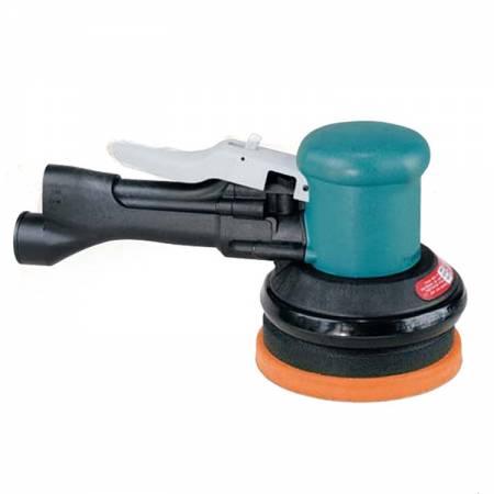Polisseuse pneumatique, sans aspiration, 900tr/min, D125mm mouvement antihologramme - modèle Gear Driven 58.441