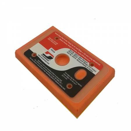 Dynabrade Velcro base, 8 holes, 80 x 133 mm, 56.319 model