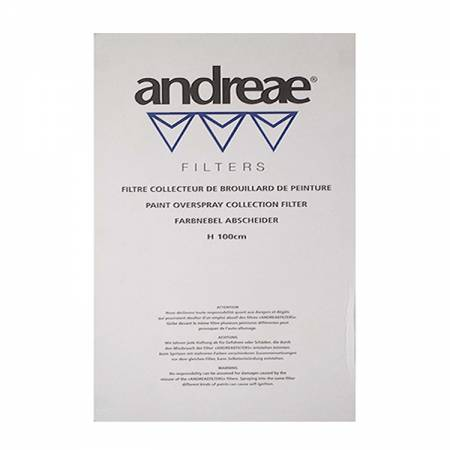 Box of cardboard filters TOP-ANDRAE, white