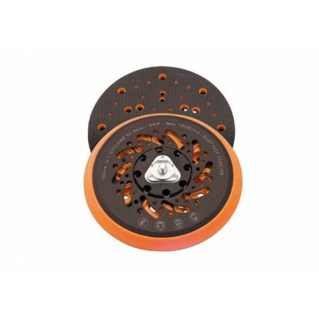 Box of 2 Velcro Cyclone plates, 53 holes, D150 mm for 5/16'' thread and M8