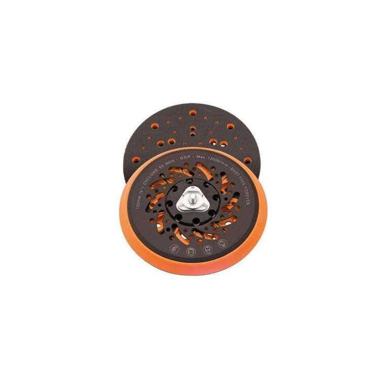 Caja 2 platos velcro Airplus, 53 agujeros, D150 mm, universal para rosca de 5/16'' y M8